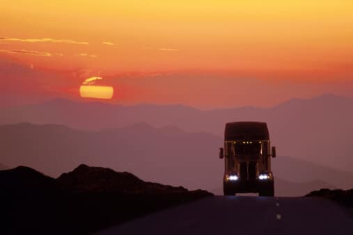 What Truckers Need to Know About Mountain Driving